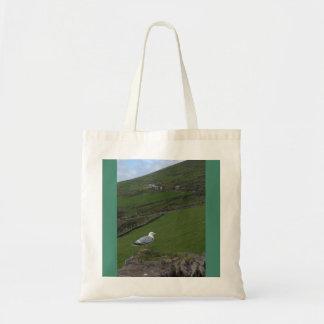 緑のアイルランドの国の側面のアイルランドのトートバック トートバッグ