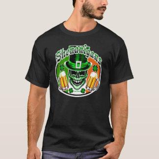 緑のアイルランドの小妖精のスカル: 偽り1 Tシャツ