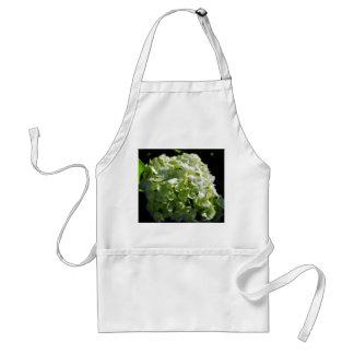 緑のアジサイの花 スタンダードエプロン