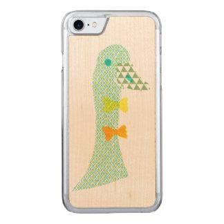 緑のアヒル CARVED iPhone 8/7 ケース
