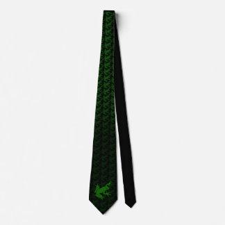 緑のアマガエルの首のタイ カスタムタイ