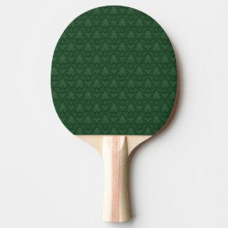 緑のアヤメパターン卓球ラケット 卓球ラケット