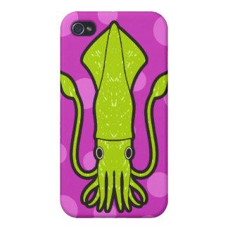 緑のイカ iPhone 4 カバー