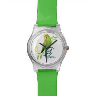 緑のインコ リストウオッチ