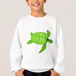 緑のウミガメ スウェットシャツ