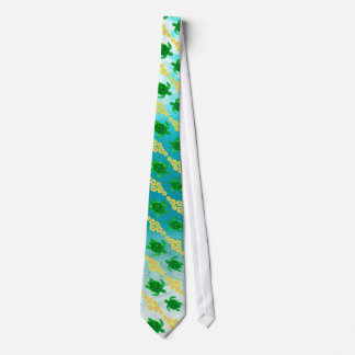 緑のウミガメ ネクタイ