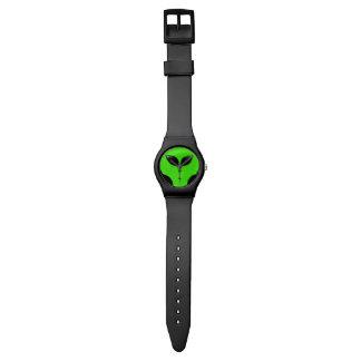 緑のエイリアンUFO 腕時計