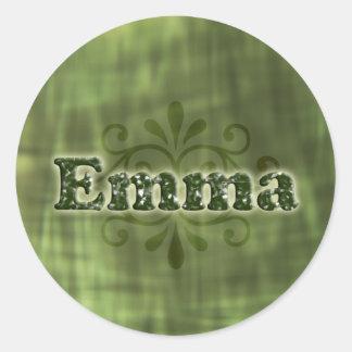 緑のエマ ラウンドシール