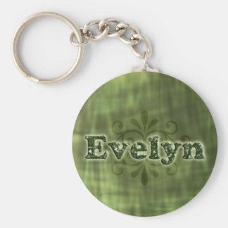 緑のエヴァリン キーホルダー