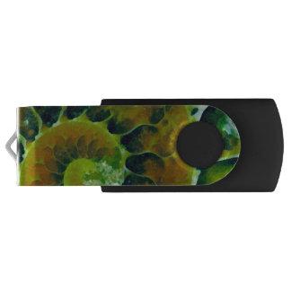 緑のオウムガイ USBフラッシュドライブ