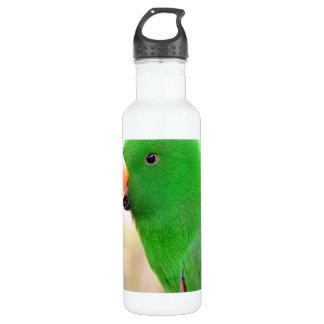 緑のオウム ウォーターボトル