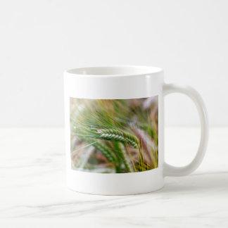 緑のオオムギ コーヒーマグカップ