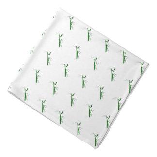 緑のカマキリ バンダナ