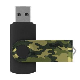 緑のカムフラージュの旋回装置USBのフラッシュドライブ USBフラッシュドライブ