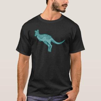 緑のカンガルーのワイシャツ Tシャツ