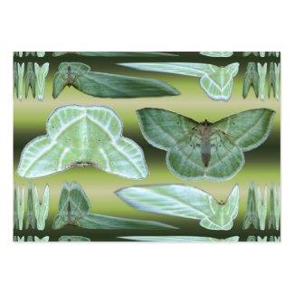 緑のガの~ ATC profilecard