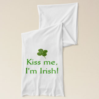 緑のキス-私によってがアイルランド語である私に接吻して下さい スカーフ