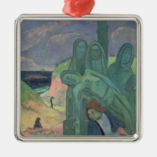 緑のキリスト1889年 メタルオーナメント