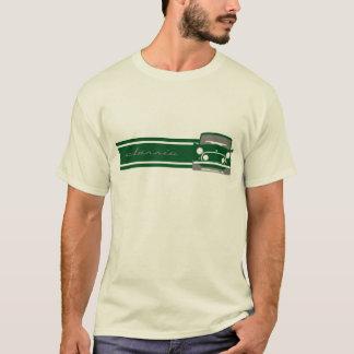 緑のクラシックな小型たる製造人のTシャツ Tシャツ