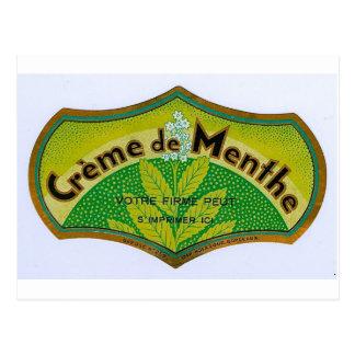緑のクリームドマント ポストカード