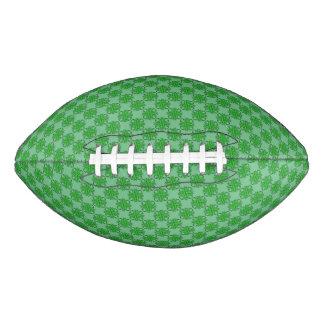 緑のクローバーのリボン アメリカンフットボール