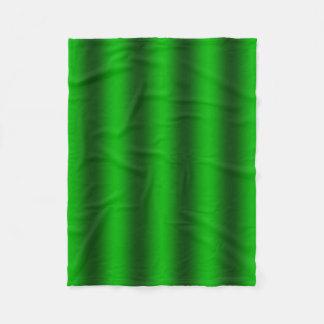 -緑のグラデーションな勾配の背景を個人化して下さい フリースブランケット