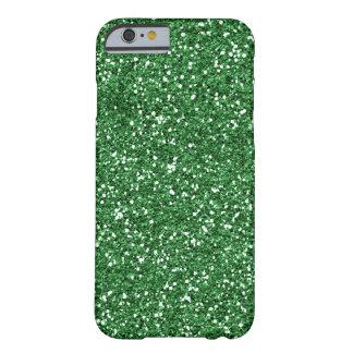 緑のグリッターのiPhone6ケース Barely There iPhone 6 ケース