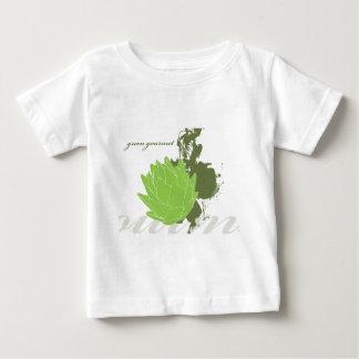 緑のグルメ向きのアーティチョーク ベビーTシャツ