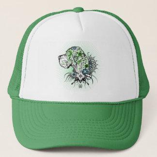 緑のグレートデーン キャップ
