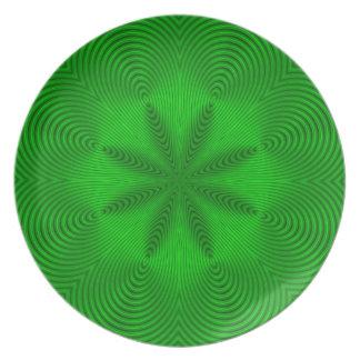 緑のコイル プレート