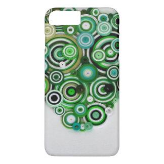 緑のコイル iPhone 8 PLUS/7 PLUSケース