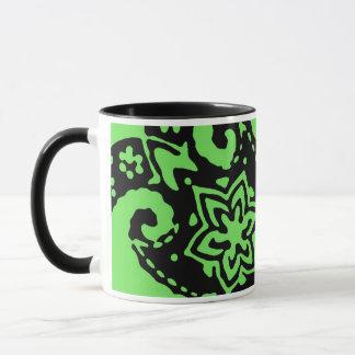 緑のコルヌコピアのマグ マグカップ