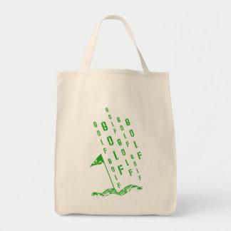 緑のゴルフ、 トートバッグ