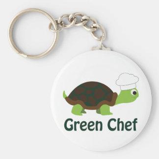 緑のシェフ キーホルダー