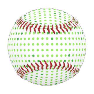 緑のシェブロンは野球に点を打ちます 野球ボール