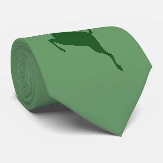 緑のシカのネクタイ ネクタイ