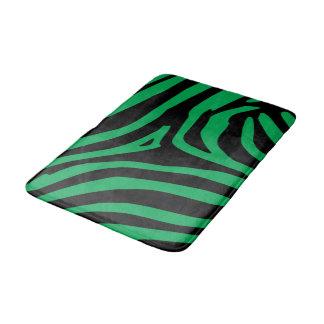 緑のシマウマ バスマット