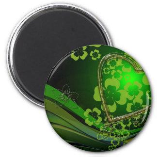 緑のシャムロック愛 マグネット