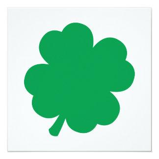緑のシャムロック カード