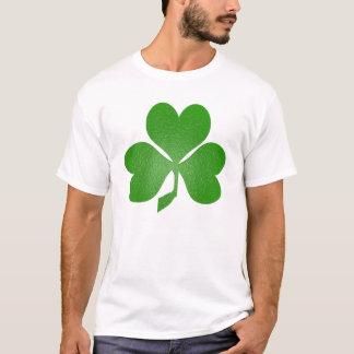 緑のシャムロック(前部) Tシャツ