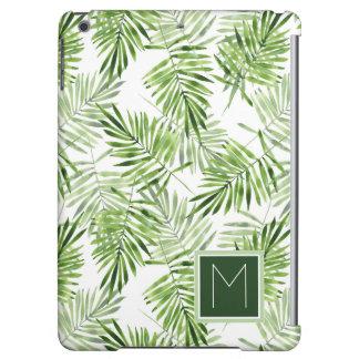 緑のシュロの葉|のモノグラム