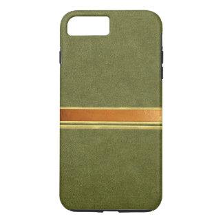 緑のスエードの銅および金ゴールドはiPhone 7の箱にバンドを付けました iPhone 8 Plus/7 Plusケース