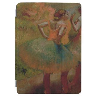 緑のスカートを身に着けているエドガー・ドガ のダンサー iPad AIR カバー