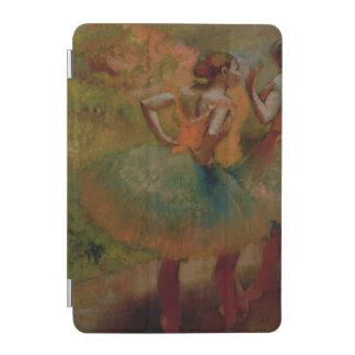 緑のスカートを身に着けているエドガー・ドガ のダンサー iPad MINIカバー