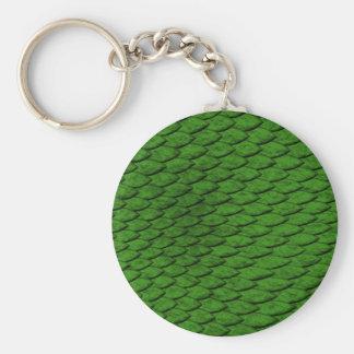 緑のスケール キーホルダー
