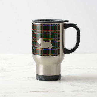 緑のスコットランドテリア旅行コーヒー・マグのギフト トラベルマグ