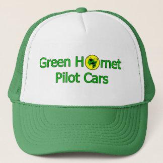緑のスズメバチのパイロットのカードライバーの帽子 キャップ