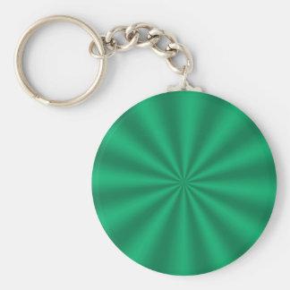 緑のスターバストのキーホルダー キーホルダー