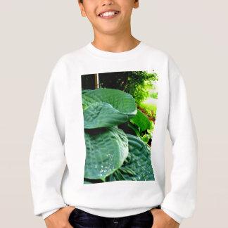 緑のステップ スウェットシャツ