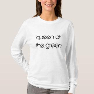緑のスヌーカーの女王はTシャツを引用します Tシャツ